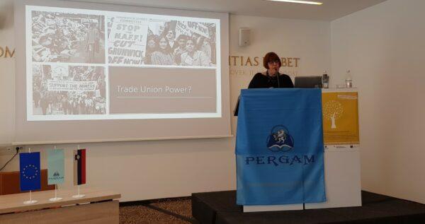 Tracy Walsh, Pergam Seminar, Slovenia, March 2019